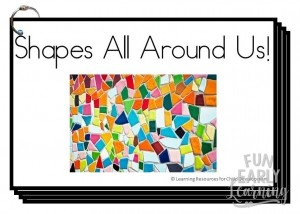 Shapes All Around Us Book