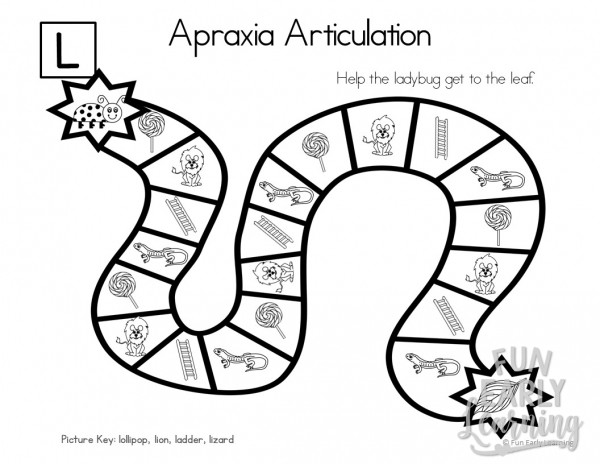 Apraxia Articulation Games A-M Speech Therapy Activity. Fun hands-on speech activity for learning articulation, speech and initial sounds in preschool and kindergarten. #articulation #speechtherapy #apraxia