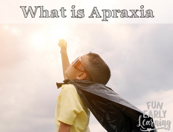 What is Childhood Apraxia of Speech and What Are the Symptoms? What you need to know about speech therapy, how your child will learn, and more! #apraxia #speechtherapy