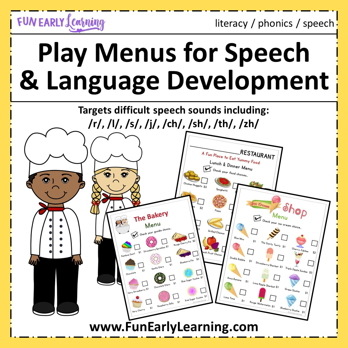 It's just an image of Nifty Free Printable Speech Therapy Materials