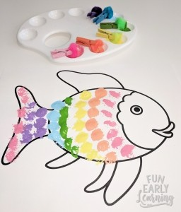 Rainbow Fish Book Crafts