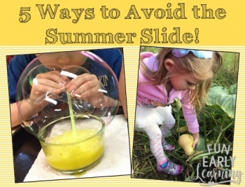5 Ways to Avoid the Summer Slide