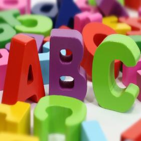 Alphabet - Letters