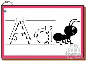 Alphabet Animal Tracing Cards are the perfect writing practice for uppercase and lowercase letters! This fun letter printable is free and great for toddlers, preschool, kindergarten, and early childhood!