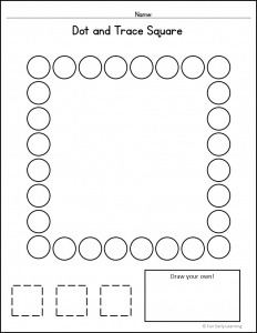Dot and Trace Bundle for Letters, Numbers, and Shapes! Great activities for uppercase and lowercase letter recognition and formation, number recognition and formation, and shape recognition and formation. Perfect for preschool, kindergarten, RTI, and early childhood. #literacycenter #mathcenter