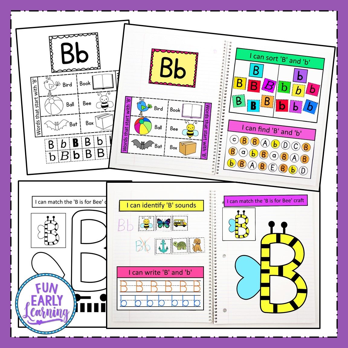 Interactive Notebook For Letters And Sounds Phonics For Prek And Kinder