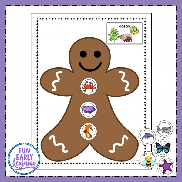 Winter Categories Sorting Speech Activity that is a fun free printable! Great activity for learning speech, articulation, sorting and matching. Perfect for preschool, kindergarten, RTI, and early childhood. #speech #articulation #freeprintable #winteractivity