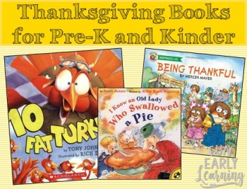 Our Favorite Thanksgiving Books for Preschool and Kindergarten. Liven up and celebrate Thanksgiving with these fun and educational stories. #thanksgiving #thanksgivingbooks #preschoolthanksgiving #kindergartenthanksgiving
