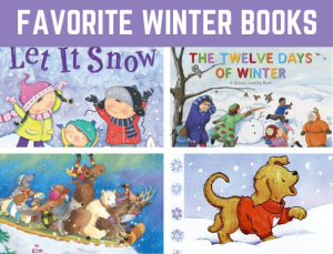 Favorite Winter Books for Preschool and Kindergarten! Fun reading book list for children learning all about winter #winterbooks #booklist #funearlylearning