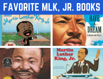 Favorite Martin Luther King, Jr. Books for Preschool and Kindergarten! Fun reading book list for children learning all about Martin Luther King, Jr. #Martin Luther King #booklist #funearlylearning