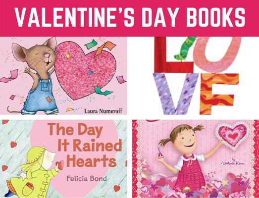 Favorite Valentine's Day Books for Preschool and Kindergarten! Fun reading book list for children learning all about Valentine's Day #valentinesdaybooks #booklist #funearlylearning