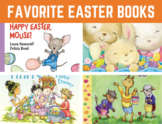 Our Favorite Easter Books for Preschool and Kindergarten. Learn about Easter with these fun and educational stories. Great addition to an Eastertheme! #Easter #readinglist #funearlylearning