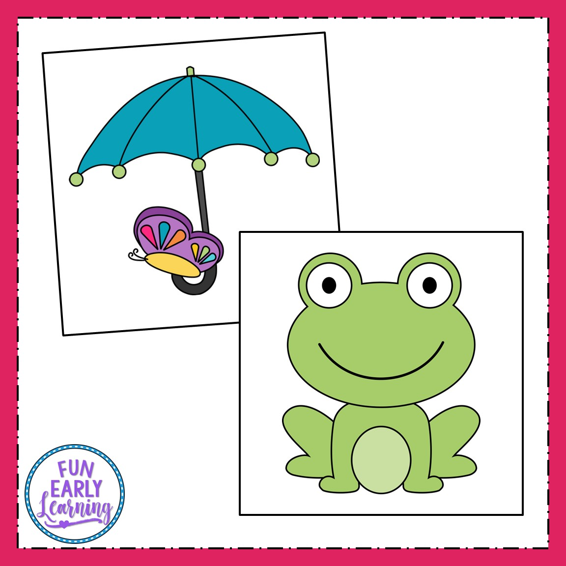 image about Printable Kid Crafts known as Spring Crafts - Flower Pot, Frog, Kite, and Umbrella with