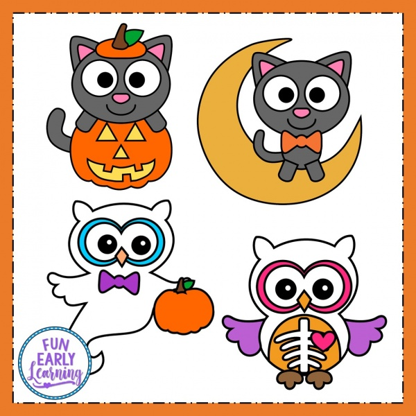 10 Fun Halloween Crafts for Kids! Easy to make Halloween craft activities with writing prompts for preschool and kindergarten. #halloweencraft #kidscraft #funearlylearning