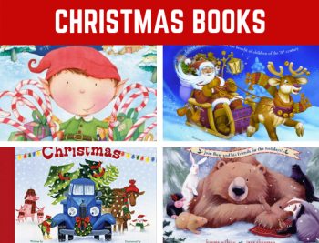 Favorite Christmas Books for Preschool and Kindergarten! Fun reading book list for children learning all about Christmas and winter. #Christmasl #booklist #funearlylearning