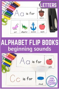 Worksheet for Beginning Sounds Alphabet Flip Books! Fun kindergarten beginning sound worksheet. Beginning sounds worksheets cut and paste.