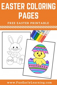 Easter coloring pages free printable! 12 Easter coloring pages printable, Easter coloring pages for preschoolers and kindergarten.