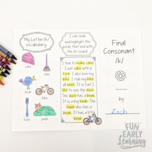Teach Final Consonant Deletion with these fun, Final Consonant Deletion Worksheets. These include activities for Final Consonant Deletion Minimal Pairs and more! Five great activities for final consonant deletion speech therapy!