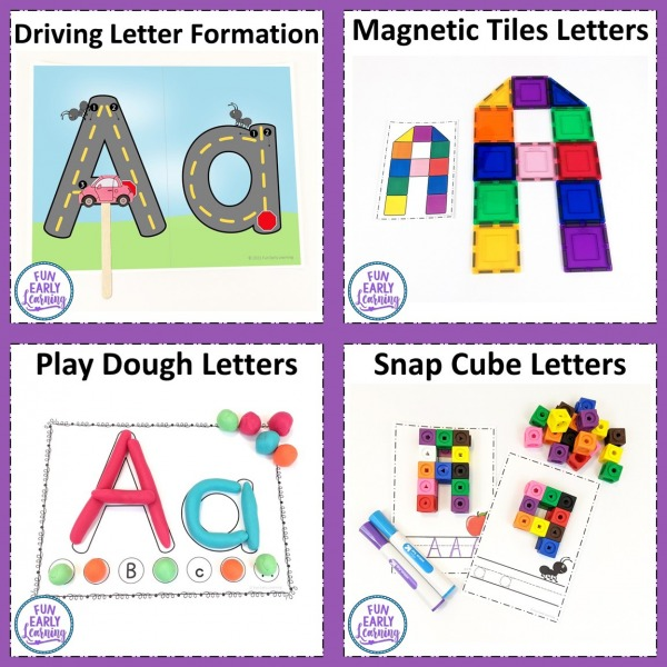 Fun Letters & Phonics Alphabet Curriculum! Great for Preschool, Kindergarten and RTI. Guided lesson plans, activities and printables included! This alphabet curriculum makes teaching fun and easy!