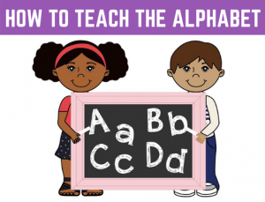 How to Teach the Alphabet with the Letters and Phonics Alphabet Curriculum.