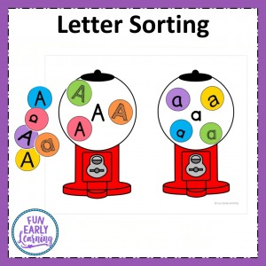 Letter Recognition and Letter Identification hands-on activity. Perfect for mastering uppercase and lowercase letters in preschool and kindergarten.